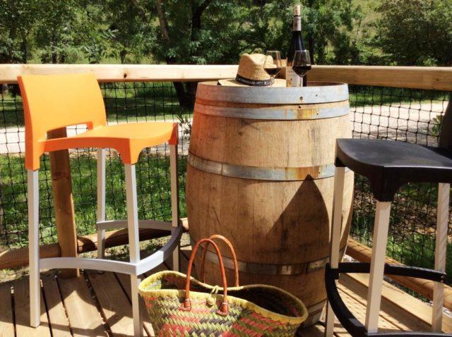 Bar à vin du Domaine d'Anglas