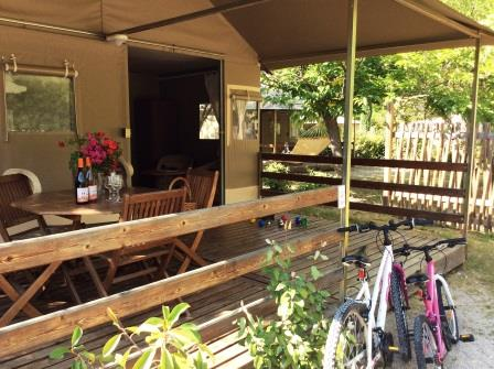 Location camping anduze