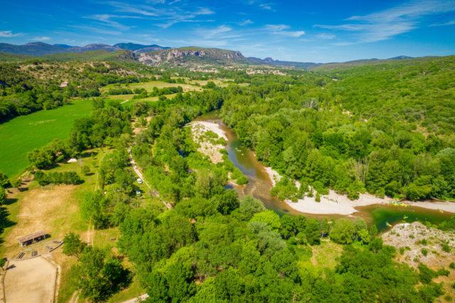 Rivière des Gorges de l'Hérault