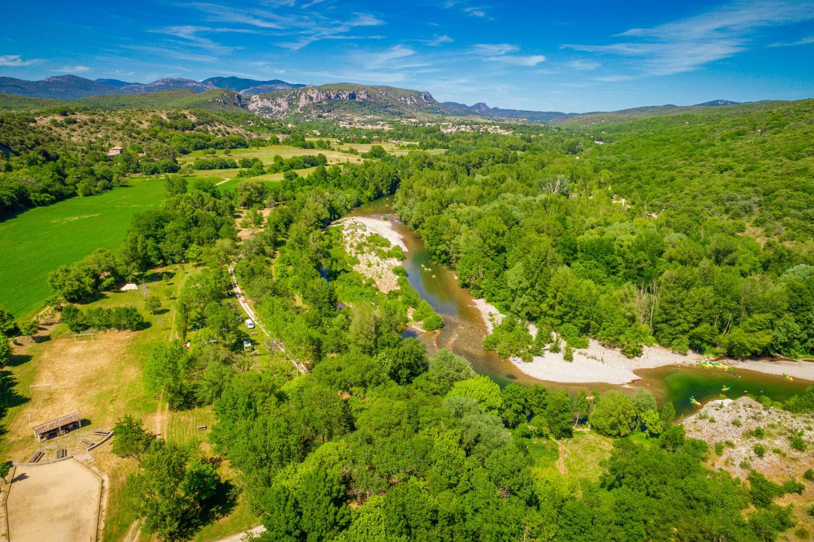 Camping 4 étoiles Gorges de l'Hérault