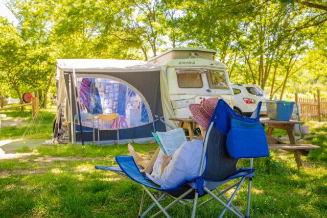 Vacances en tentes, camping-car ou caravanes