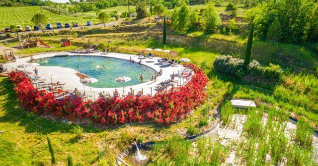 camping cirque de navacelles avec piscine