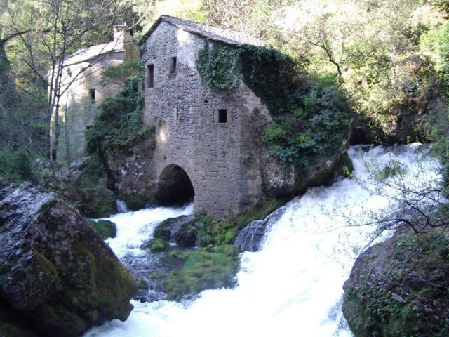 Le Moulin de la foux navacelles gard