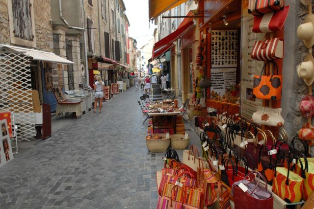 Ruelles d'Anduze en Cévennes