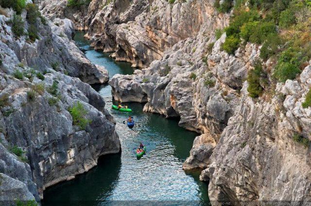 Camping Gorges de l'Hérault