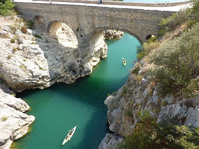 camping Mont Aigoual Pont du Diable