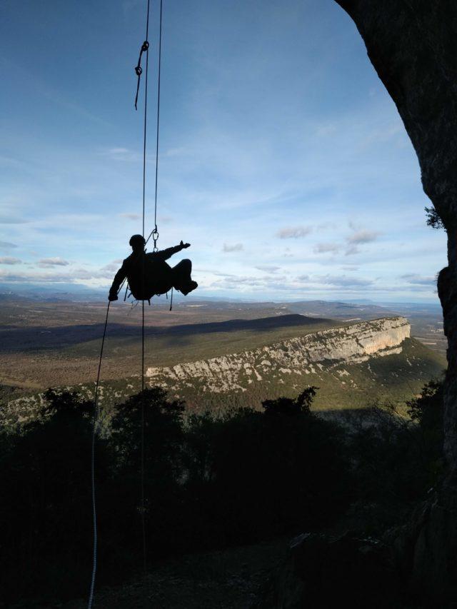 Escalade au Pic Saint Loup