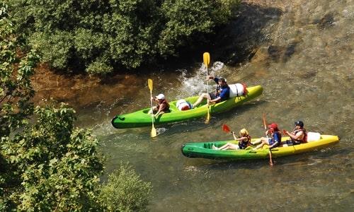 Canoe en Cévennes - Camping du Domaine d'Anglas