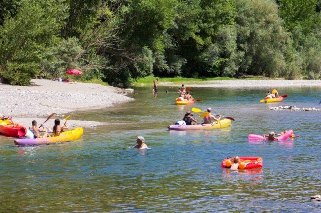 Canoe Kayak en famille en Cévennes