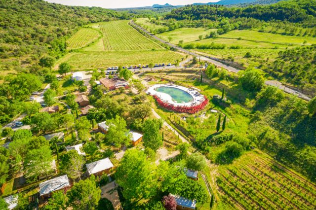 Site oenotouristique en Hérault