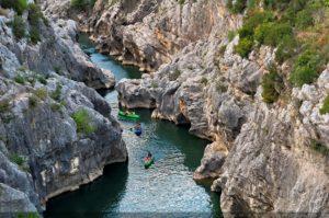 Visitez les Gorges de l'Hérault