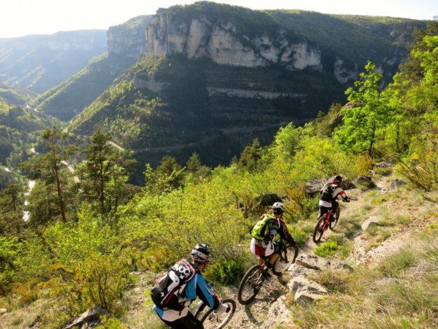 Vacances VTT en Cévennes