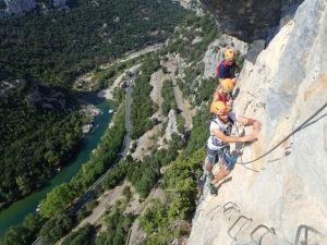 Escalade et Via Ferrata en Cévennes