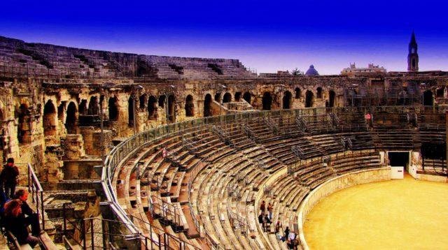 Arènes de Nîmes à visiter