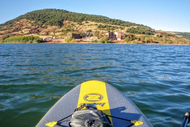 Paddle au Salagou